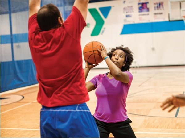 Adults-Playing-Basketball-Huntsville