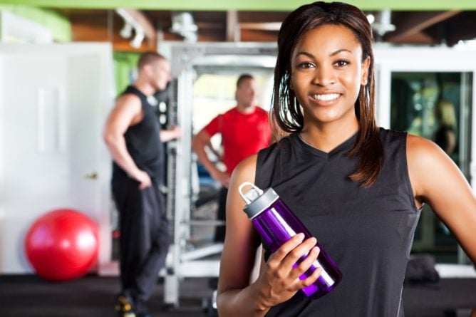 YMCA wellness works corporate membership woman